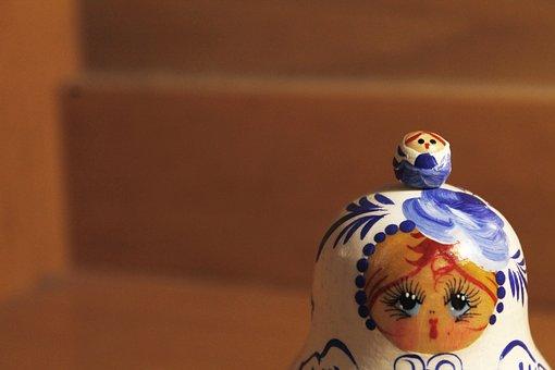 Doll, Russian Doll, Russian, Toy, Russian Toy, Souvenir