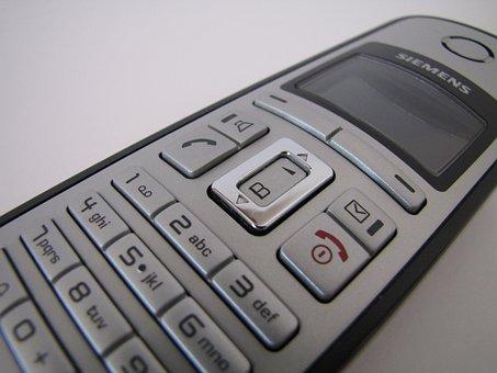 Phone, Cordless, Gigaset, Siemens, Electronics