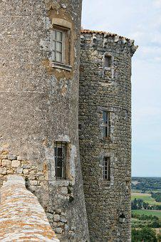 France, Gard, Provence, Castle, Tower