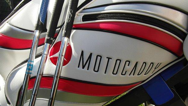 Golf, Golf Bag, Golf Clubs, Motocaddy, Golfer, Golfing