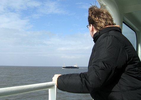 Longing, Sea, Sky, Travel, Ship, Luck, Homesickness