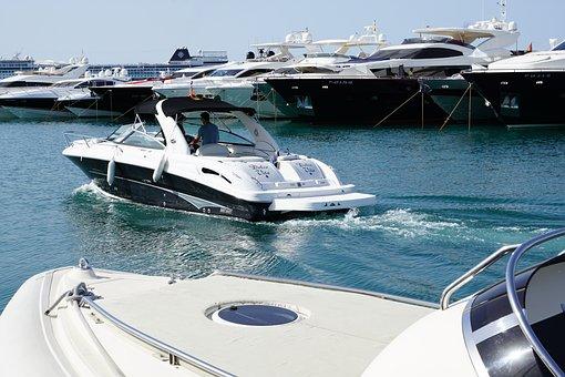 Port, Boats, Ibiza, Sea, Luxury, Yacht, Dolce Vita
