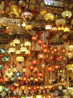 Istanbul, Lamps, Grand Bazaar