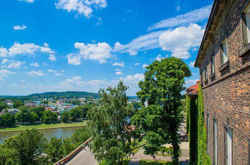 Krakow, Poland, Europe, Wawel, Castle, Fortress, Tower