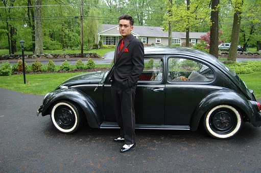 Vw Bug, 1966 Vw Beetle, Classic Car, Vw, Male