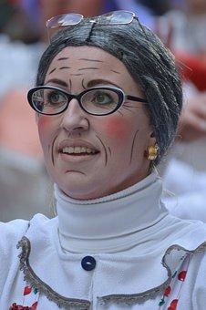 Carnival, Mask, Costume, People, Dress Up, Glasses