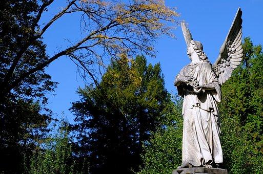 Angel, Messenger Of God, Peace, Lichtgestalt, Sculpture