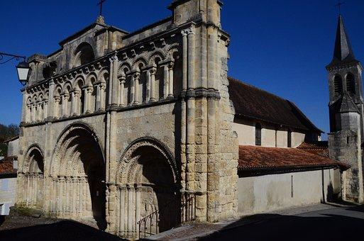 Church, Saint Jacques, Romanesque Art, Architecture