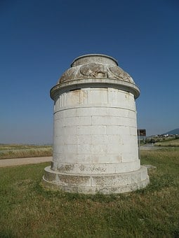 Greece, Leftra, Monument, Battle, Sparta, Teba