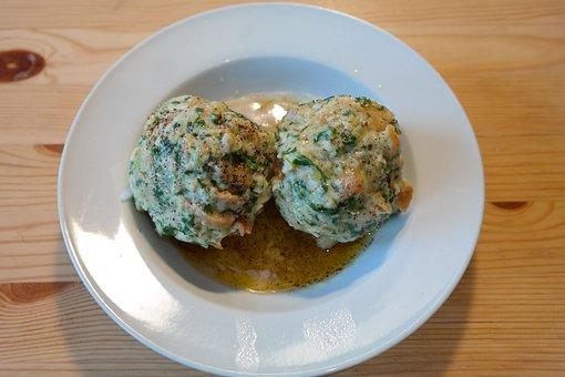 Spinach Dumplings, Dumpling, Specialty, Alpine Cuisine