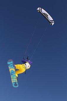Sprort, Kitesurfing, Winter