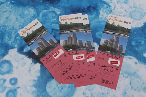 Tickets, Table, Travel, Play, Times, Japan