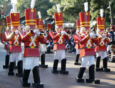 Christmas, Parade, Magic Kingdom, Disney, Toy, Soldier