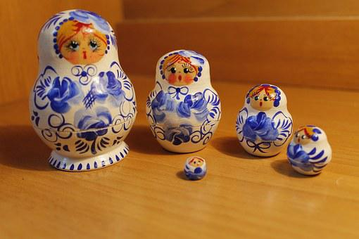 Russian Doll, Russian Toy, Doll, Toy, Russian, Handmade