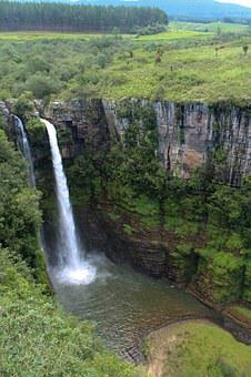 Waterfall, Mac Mac Falls, South Africa, Water, Scenery