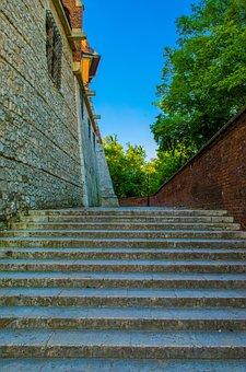 Wawel, Castle, Fortress, Krakow, Poland, Europe