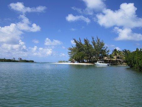Sea, Idyll, Beach, Mauritius, Deserted Island, Wedding