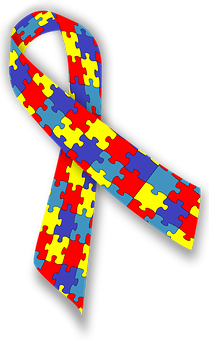 Autism, Ribbon, Awareness, Disease, Disorder, Syndrome