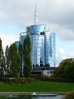 Bülow Tower, Building, Architecture, Modern, Stuttgart