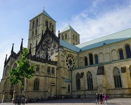 Münster, Saint Paul's Cathedral, Church, Building