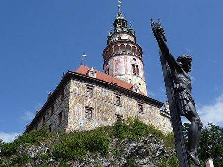 Christianity, Castle In český Krumlov, Czech Republic