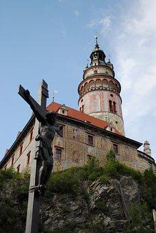 Czech Krumlov, Castle, The Crucifixion, Jesus Christ