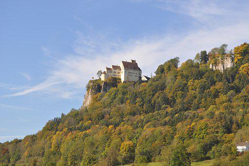 Werenwag, Castle, Nature Park Upper Danube