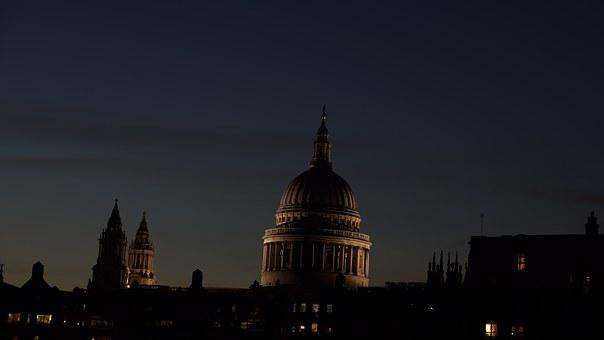London, Cupola, Dome, Church, Architecture, Cathedral