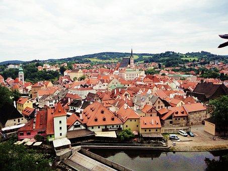 Czech Republic, Cesky Krumlov Castle Rope