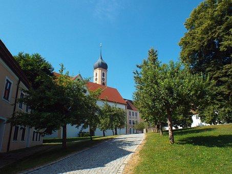 Oberschönenfeld, Abbey, Church, Monastery, Religion