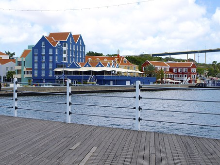 Willemstad, Curacao, Capital, Island, Homes, Promenade