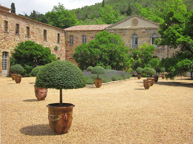 Fontfroide, Cistercian, Monastery, France, Aude