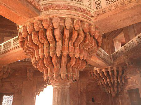 India, Red Fort, Mughal, Shahjahanabad, Delhi, Asia