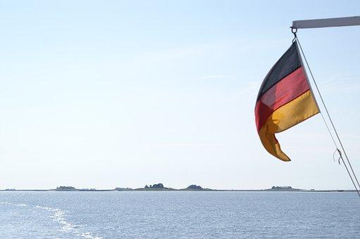 Halligen, Langeneß, North Sea, Wadden Sea, Germany