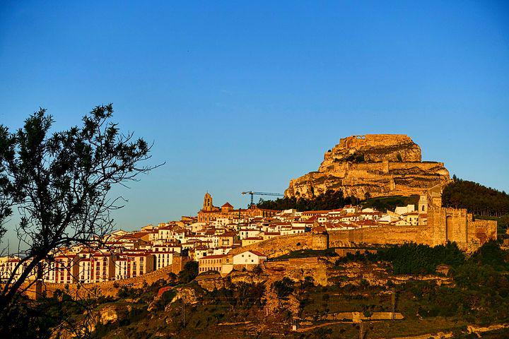 Fortress, Morella, Castellion, Spain, Fortification