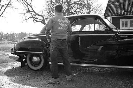 Fifty, Nostalgia, Hubby, The Longing, Old Car