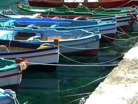 Boats, Sea, Pontoon Bridge, Boat, Marina