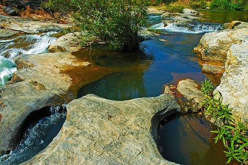 River Landscape, Doi Inthanon, Thailand