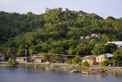 Roatan, Honduras, Caribbean, Scenic, Mountains