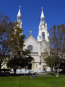 Saint's Peter And Paul, Church, Building, Religion