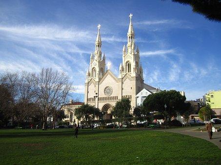Church, San Francisco, Saint's Peter And Paul
