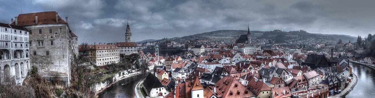 český Krumlov, Schwarzenberg, Big-small Town