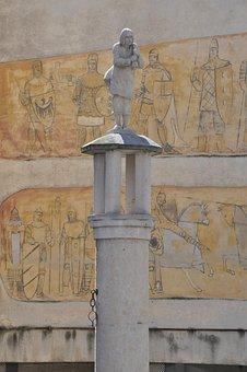 Pillory, Klodzko, Sculpture, Architecture, Monument