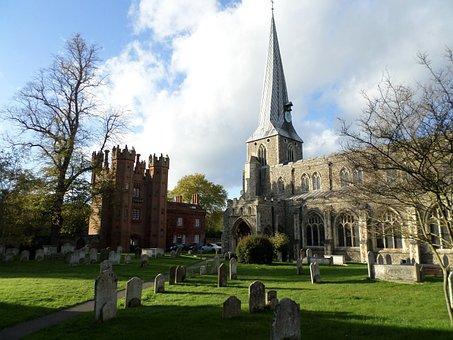 St Marys Church, Deanery Tower, Hadleigh, Suffolk