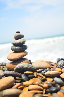 Ancient Sea Jelly, Gravel, Rock, Coast, Stones, Element