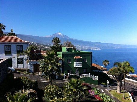 Santa úrsula, Landscape, Teide, Volcano, Tenerife