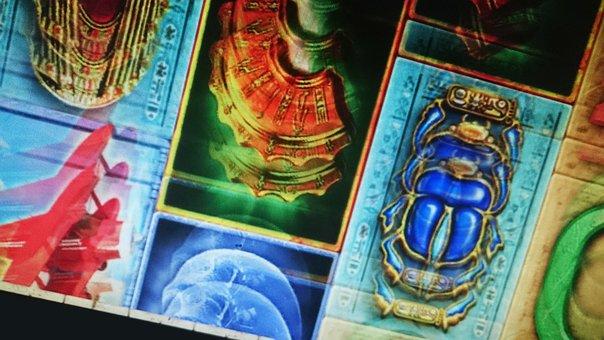 Three Elements, Video Slotmachine, Casino, Luck, Symbol