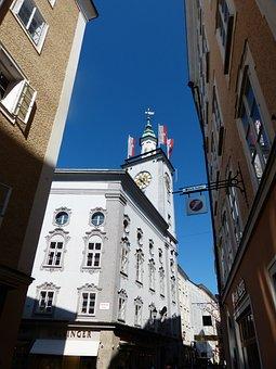 Salzburg City Hall, Town Hall, Salzburg, Getreidegasse