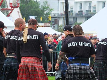Games, Men, Tradition, Highland, Scotish, Scotland, Big