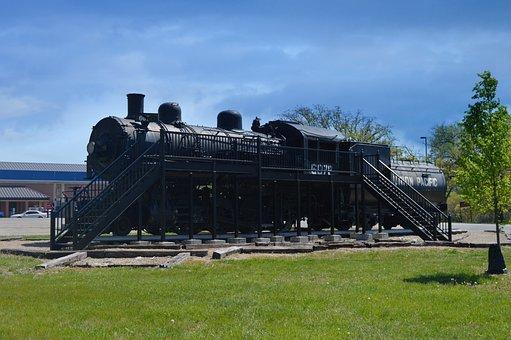 Train, Fort Riley, Kansas, History